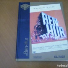 Cine: BEN HUR / DVD + LIBRO FOTOS ... EL PAIS / EXCELENTE FORMATO. Lote 254490850