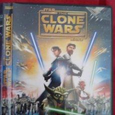 Cine: DVD THE CLONE WARS. STAR WARS. PRACTICAMENTE NUEVO.. Lote 254550270