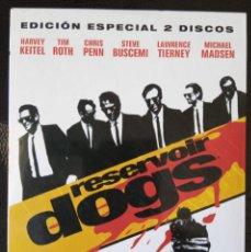 Cine: DVD RESERVOIR DOGS DE QUENTIN TARANTINO. EDICIÓN ESPECIAL DE 2 DISCOS.. Lote 254550600
