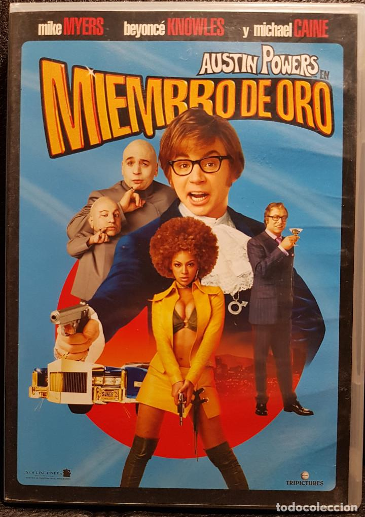 AUSTIN POWERS EN MIEMBRO DE ORO - DVD - MIKE MYERS - BEYONCE KNOWLES - NO USO CORREOS (Cine - Películas - DVD)