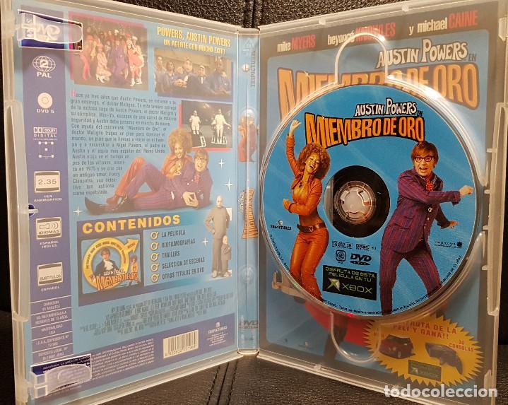 Cine: AUSTIN POWERS EN MIEMBRO DE ORO - DVD - MIKE MYERS - BEYONCE KNOWLES - NO USO CORREOS - Foto 3 - 254626510