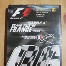 Cine: FÓRMULA 1. GRAN PREMIO DE FRANCIA 2006 (DVD PRECINTADO). Lote 254636065