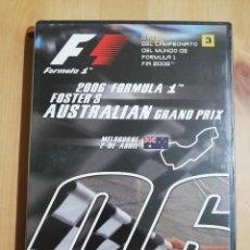 Cine: FÓRMULA 1. GRAN PREMIO DE AUSTRALIA 2006 (DVD PRECINTADO). Lote 254637555