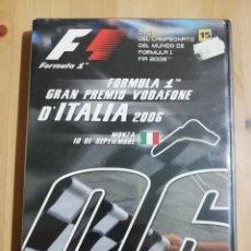 Cine: FÓRMULA 1. GRAN PREMIO DE ITALIA 2006 (DVD PRECINTADO). Lote 254638810