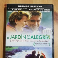 Cine: EL JARDÍN DE LA ALEGRÍA (BRENDA BLETHYN / CRAIG FERGUSON) DVD. Lote 254639025
