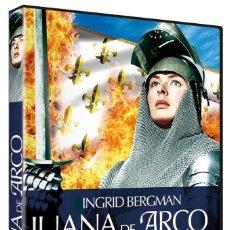 Cine: JUANA DE ARCO (INGRID BERGMAN) - DVD NUEVO Y PRECINTADO. Lote 254670395
