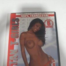 Cine: CINEX 280 TITAN T-GIRLS VOLUME 8 - DVD SEGUNDAMANO. Lote 254937235