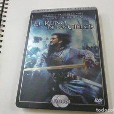 Cine: EL REINO DE LOS CIELOS,(2 DISCO EDICIÓN ESPECIAL,METALICA).. Lote 254979115