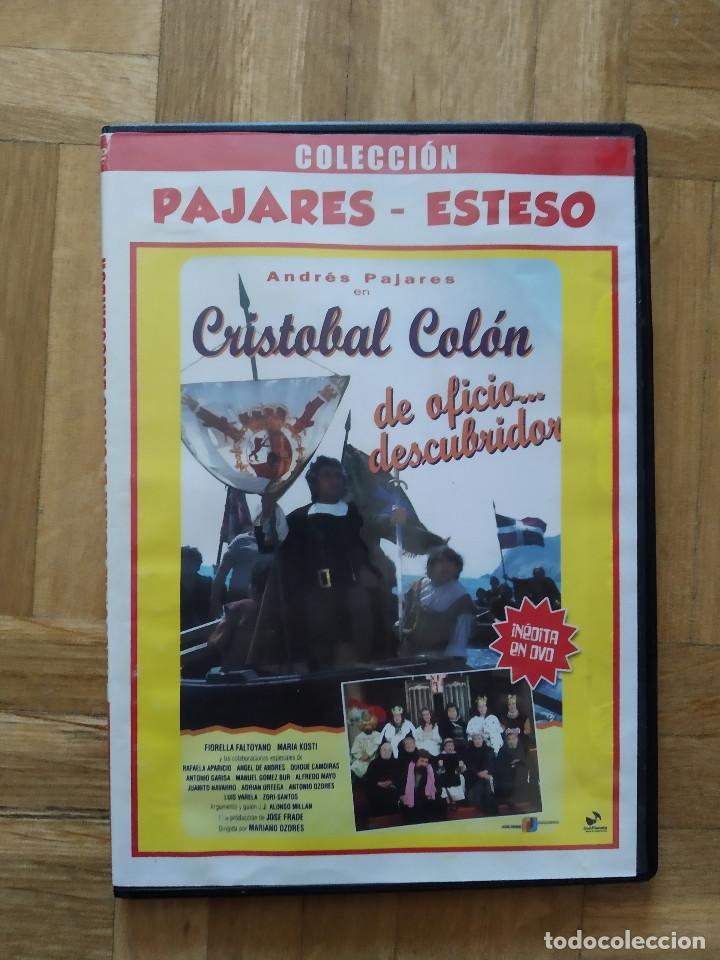 PELICULA DVD - CRISTOBAL COLON DE OFICIO...DESCUBRIDOR - ANDRES PAJARES - ANTONIO OZORES (Cine - Películas - DVD)