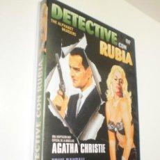Cine: DVD DETECTIVE CON RUBIA. TONY RANDALL. ANITA EKBERG. AGATHA CHRISTIE 87 MIN (BUEN ESTADO). Lote 255403595