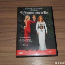Cine: LA MUERTE OS SIENTA TAN BIEN DVD MERYL STREEP BRUCE WILLIS GOLDIE HAWN COMO NUEVA. Lote 255538695