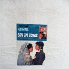 Cine: DVD - SIN UN ADIOS COLECCION RATHAEL ( SOBRE DE CARTON ). Lote 255566250