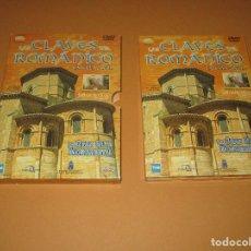 Cine: LAS CLAVES DEL ROMANICO ( CASTILLA Y LEON ) - 3 DVD - TVE - JOSE MARIA PEREZ (PERIDIS). Lote 255566265