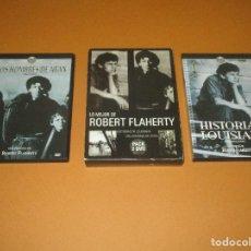 Cine: LO MEJOR DE ROBER FLAHERTY - 2 DVD - HISTORIAS DE LOUISIANA - LOS HOMBRES DE ARAN. Lote 255566840