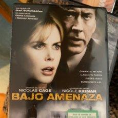 Cine: BAJO AMENAZA PRECINTADA ENT. Lote 255566870