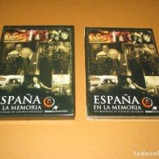 Cine: ESPAÑA EN LA MEMORIA ( UN PROGRAMA DE ALFONSO ARTESEROS ) - 3 DVD - DOCUMENTANDO EL SIGLO XX. Lote 255567560