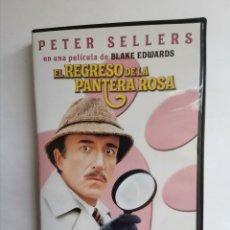 Cine: EL REGRESO DE LA PANTERA ROSA DVD. Lote 255663490