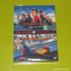 Cine: DVD.- PACK SPIDERMAN: HOMECOMING + LEJOS DE CASA (2 DVDS) - MARVEL - PRECINTADA. Lote 255664715