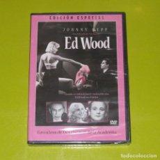 Cine: DVD.- ED WOOD (EDICION ESPECIAL) - TIM BURTON - JOHNNY DEEP - PRECINTADA. Lote 255664760