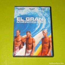 Cine: DVD.- EL GRAN MIERCOLES - JAN-MICHAEL VINCENT - WILLIAM KAT -SURF -DESCATALOGADA. Lote 255665140