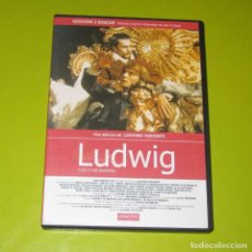 Cine: DVD.- LUDWIG (LUIS II DE BAVIERA) (ED. 2 DVDS METRAJE ORIGINAL) - LUCHINO VISCONTI. Lote 255665625