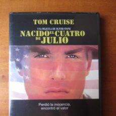 Cine: NACIDO EL CUATRO DE JULIO (TOM CRUISE) (DVD). Lote 255665730