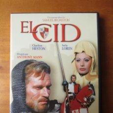 Cine: EL CID (CHARLTON HESTON) (DVD). Lote 255665810