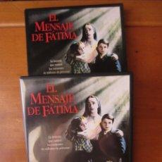 Cine: EL MENSAJE DE FATIMA (DVD CON FUNDA CARTON). Lote 255665880