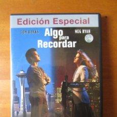 Cine: ALGO PARA RECORDAR (EDICION ESPECIAL) (DVD). Lote 255666025
