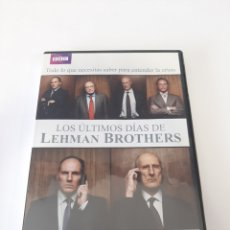 Cine: 25019 LOS ÚLTIMOS DÍAS DE LEHMAN BROTHERS - DVD COMO NUEVO. Lote 255936895