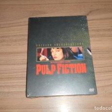 Cine: PULP FICTION EDICION ESPECIAL COLECCIONISTA 2 DVD QUENTIN TARANTINO NUEVA PRECINTADA. Lote 257411895