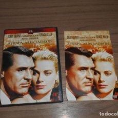 Cine: ATRAPA A UN LADRON DVD CARY GRANT GRACE KELLY COMO NUEVA. Lote 257412105