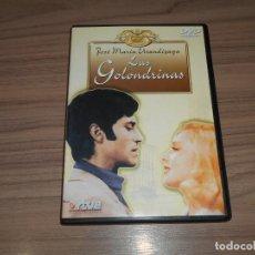 Cine: LAS GOLONDRINAS DVD JOSE MARIA AROZAMENA LAS ZARZUELAS COMO NUEVA. Lote 257413435