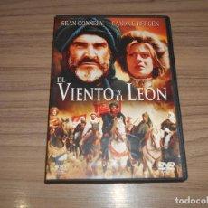Cine: EL VIENTO Y EL LEON DVD CANDICE BERGEN SEAN CONNERY COMO NUEVA. Lote 257414105