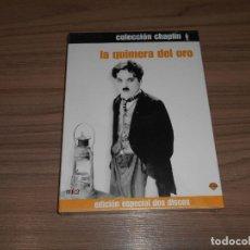 Cine: LA QUIMERA DEL ORO EDICION ESPECIAL WARNER 2 DVD CHARLES CHAPLIN WARNER NUEVA PRECINTADA. Lote 257415905