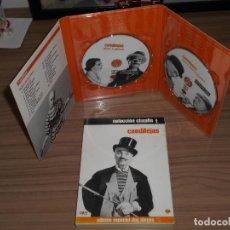 Cine: CANDILEJAS EDICION ESPECIAL WARNER 2 DVD CHARLES CHAPLIN WARNER DISCOS COMO NUEVOS. Lote 257416945