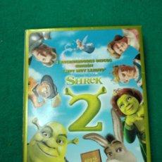 Cine: 2 ENCANTADORES DISCOS EDICION MUY MUY LEJANO SHREK 2 DVD. DESPLEGABLE.. Lote 257440945