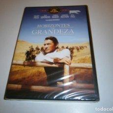 Cinéma: HORIZONTES DE GRANDEZA DVD NUEVO PRECINTADO GREGORY PECK JUAN SIMM. Lote 257455680