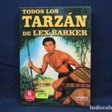 Cine: TODOS LOS TARZAN DE LEX BARKER - DVD. Lote 257518505
