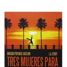 Cine: TRES MUJERES PARA UN CARADURA. Lote 257554650