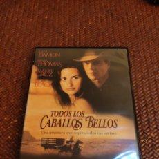 Cine: TODOS LOS CABALLOS BELLOS DVD. Lote 257554935