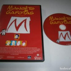 Cinéma: MANOLITO GAFOTAS DVD DAVID SANCHEZ DEL REY ADRIANA OZORES ROBERTO ALVAREZ. Lote 257635000
