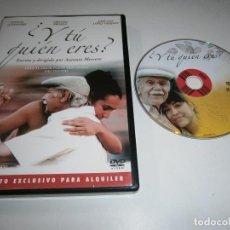 Cinéma: Y TU QUIEN ERES ? DVD MANUEL ALEXANDRE CRISTINA BRONDO JOSE LUIS LOPEZ VAZQUEZ. Lote 257639015