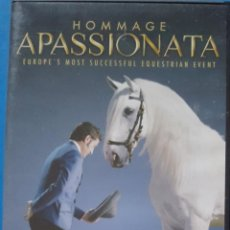 Cine: DVD / HOMMAGE APASSIONATA, EL EVENTO ECUESTRE MÁS EXITOSO DE EUROPA. Lote 257880300