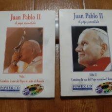 Cine: 2 DVD JUAN PABLO II, EL PAPA PROMETIDO. Lote 257883080