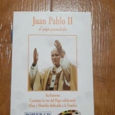 Cine: DVD JUAN PABLO II, EL PAPA PROMETIDO (SU ENTORNO). Lote 257884195