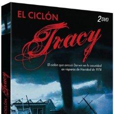 Cinema: EL CICLON TRACY. MINISERIE COMPLETA 2DVD - NUEVO Y PRECINTADO. Lote 260078350