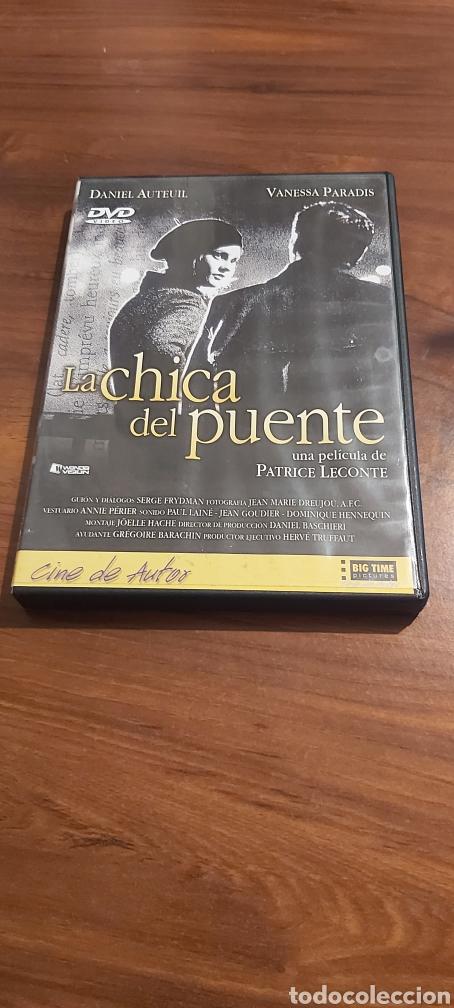 LA CHICA DEL PUENTE DVD (PATRICE LACONTE) UNA HISTORIA INOLVIDABLE PARA DESESPERADOS Y PRE-SUICIDAS. (Cine - Películas - DVD)