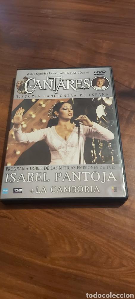 DVD CANTARES HISTORIA CANCIONERA DE ESPAÑA ( ISABEL PANTOJA + LA CAMBORIA ) RTVE (Cine - Películas - DVD)