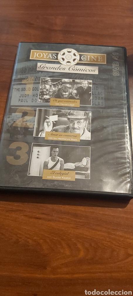 GRANDES COMICOS, HAROLD LLOYD, LOS HERMANOS MARX, BUSTER KEATON, JOYAS DEL CINE 41 (Cine - Películas - DVD)